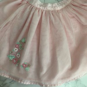 Carter's embroidered skirt